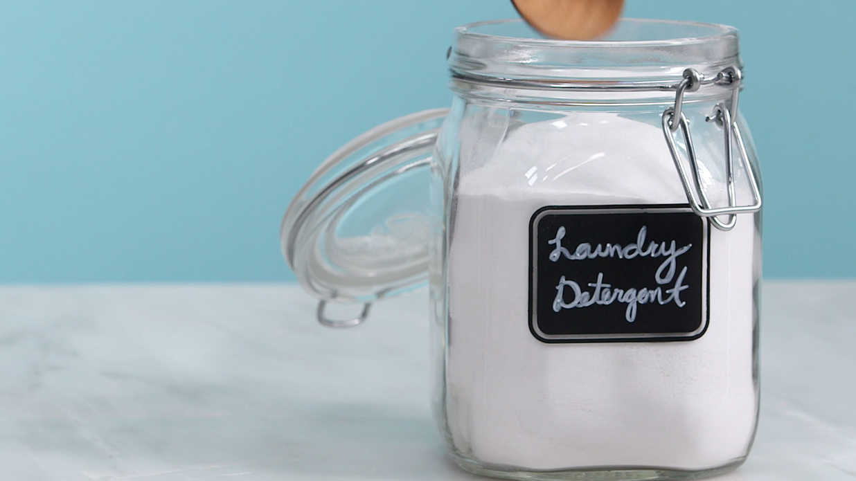 All Natural Laundry Detergent Video