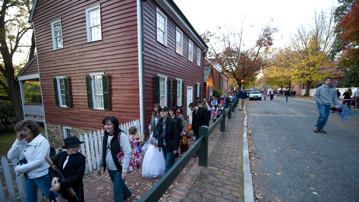 The South's Best Places to Trick or Treat