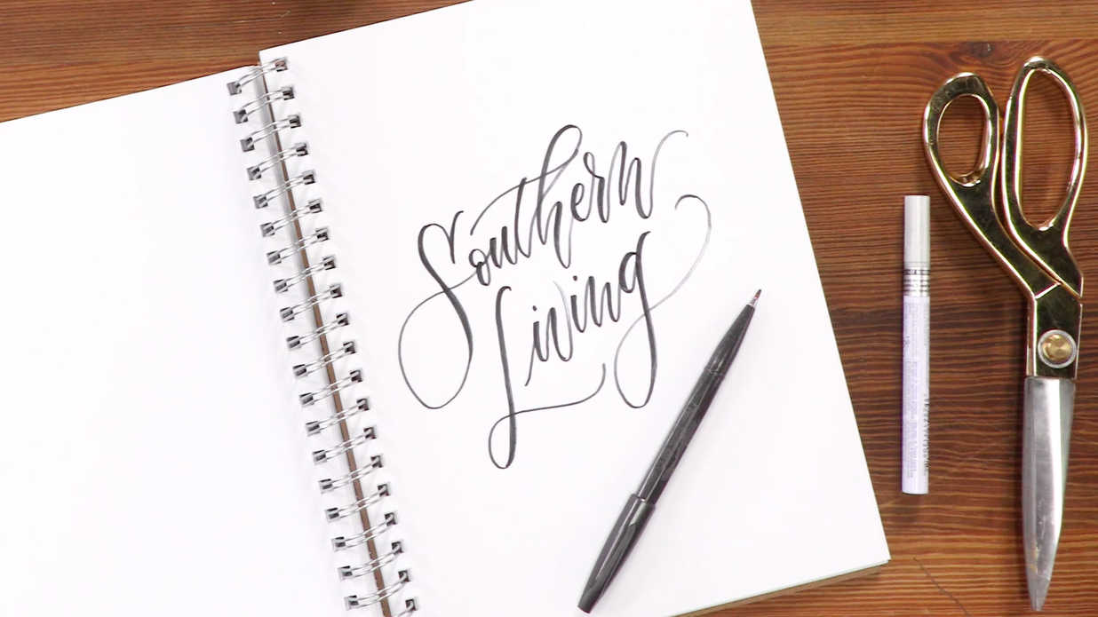 The Secret To Easy Calligraphy
