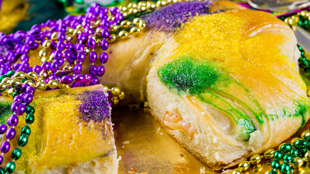 New Orleans King Cake Meaning Behind
