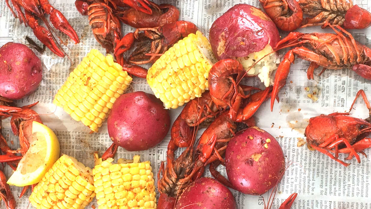 How To Eat Crawfish Southern Living