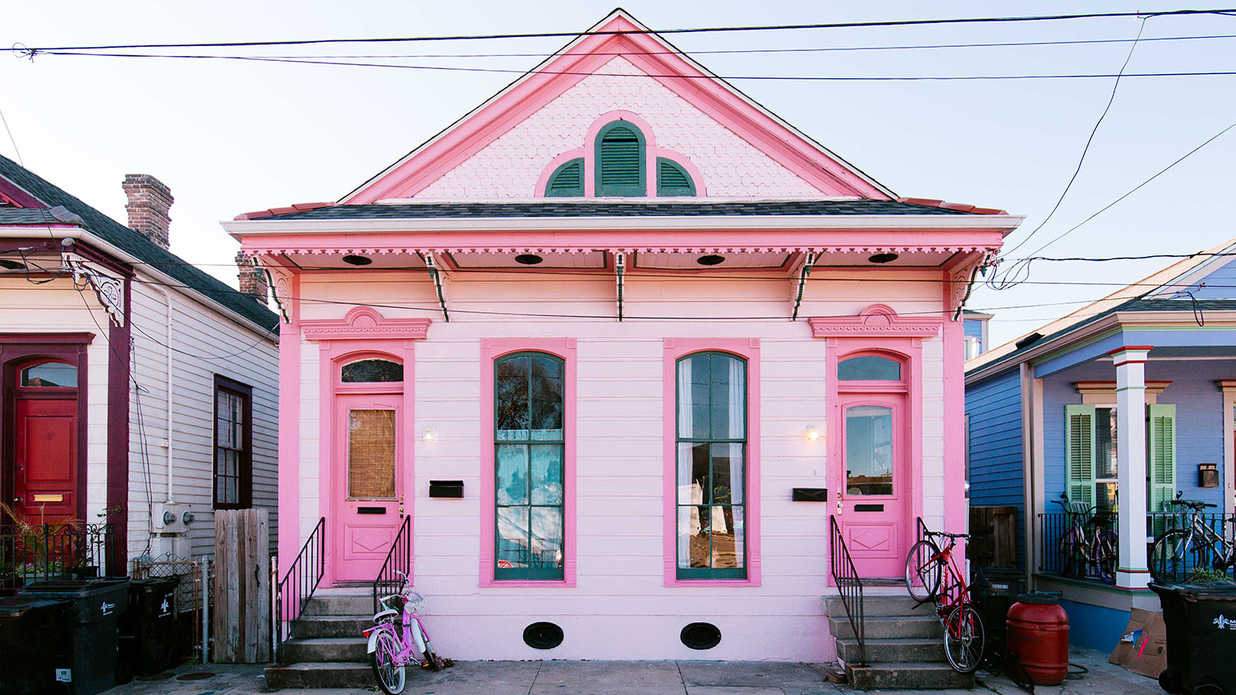 The South's Most Colorful Houses
