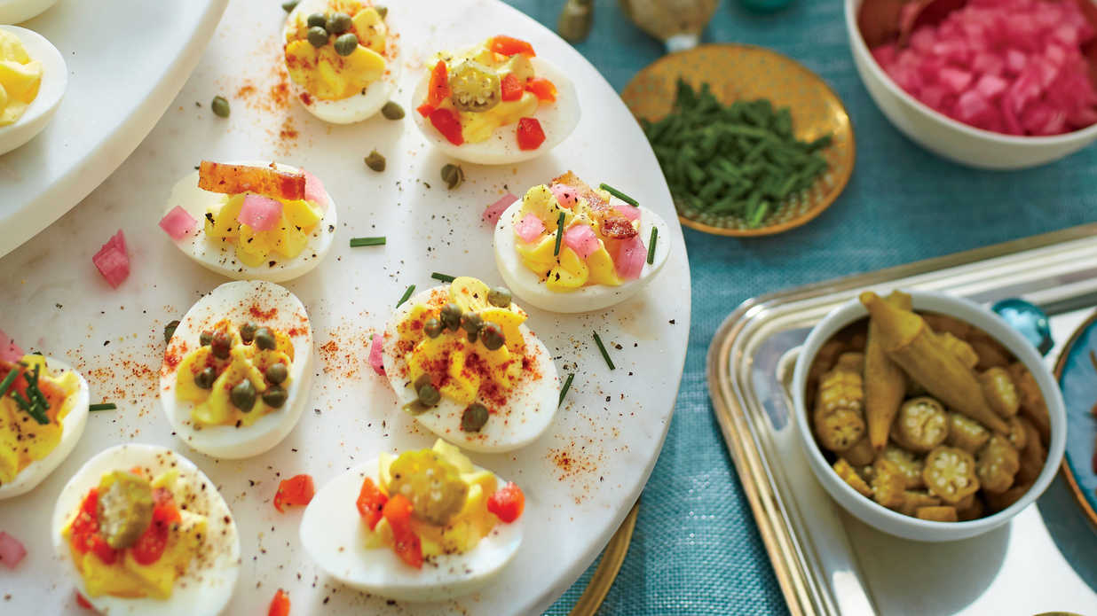 Thanksgiving Deviled Egg Recipes