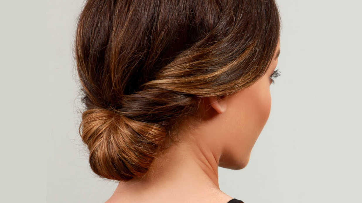 This classic updo works the best for fine hair southern living solutioingenieria Gallery