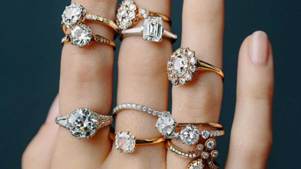 rings diamonds lieu their are embedding finger diamond apparently engagement millennials wearing of in fingers