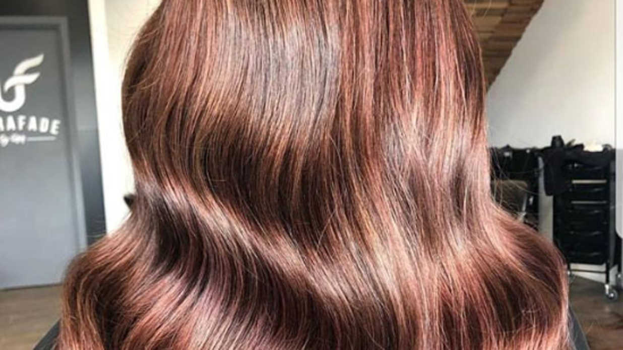 Rose Brown Hair Might Be The Prettiest Summer Trend For Brunettes Southern Living