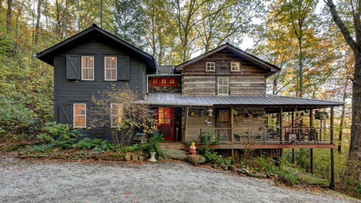 This North Carolina Cabin With 200 Years' Worth of Charm Is On the Market—And It's Even Cozier Than It Sounds