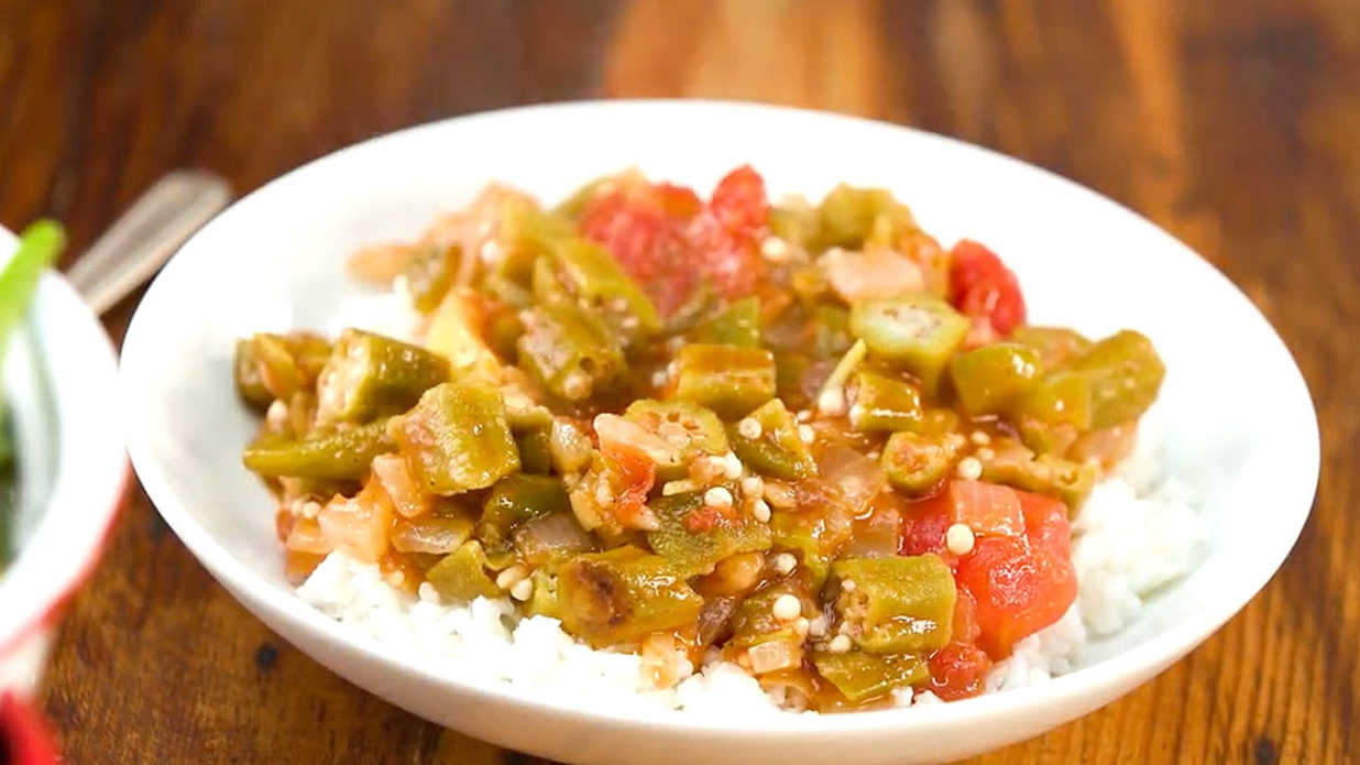 Classic Okra and Tomatoes Recipe
