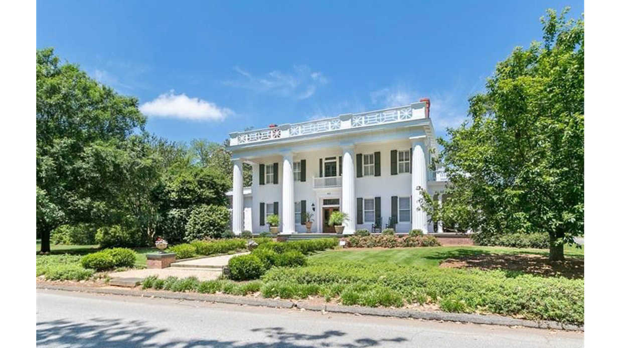 This Antebellum Beauty Listed for $2,950,000 Sits on Its Very Own Block in Historic Madison, Georgia