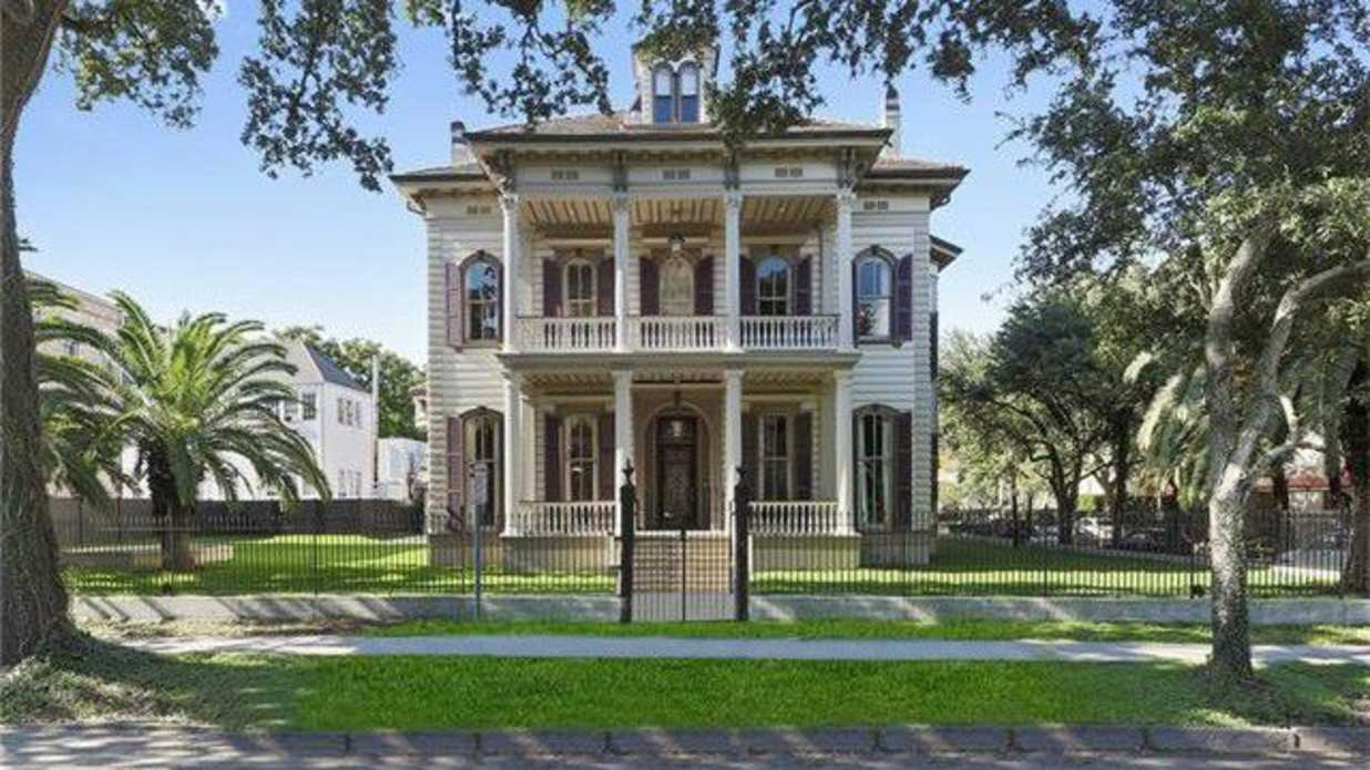 Author Anne Rice's One-Time NOLA Victorian Mansion Is Listed for $4.5 million