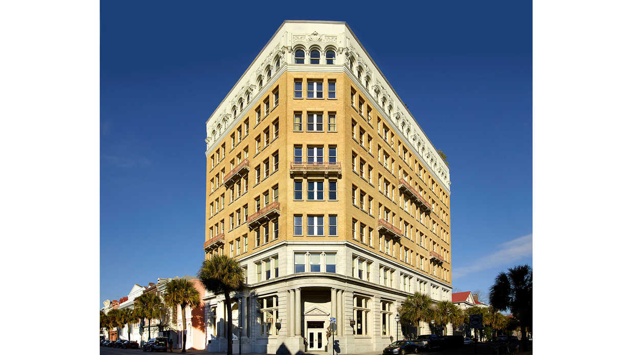 The Incredible Two-Story Penthouse Atop Charleston's People's Building Can Be Yours for $16,500,000