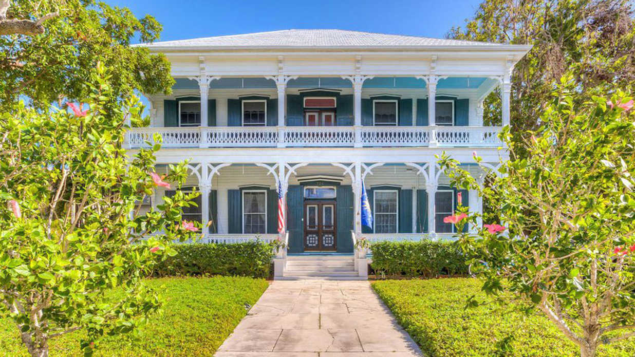 This Historic and Impossibly Colorful Key West Mansion is Being Sold for the Second Time in 153 Years