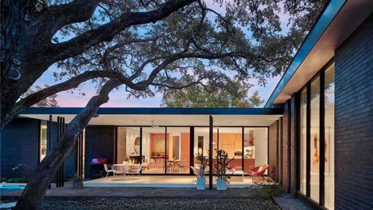 Stunning Mid-Century Modern Home in Austin Can Be Yours for $2.75 Million