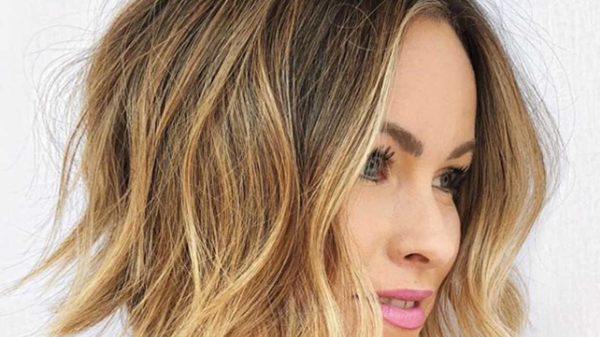 angled lob haircuts that prove blunt isn't always better