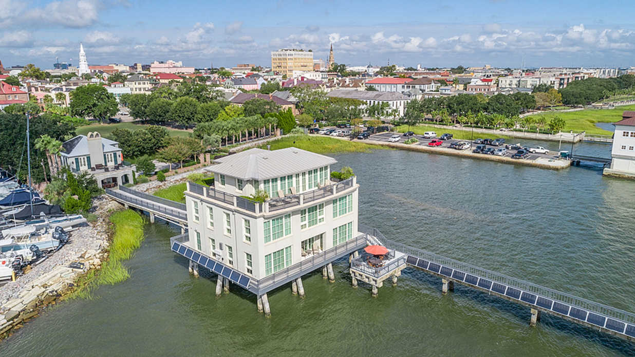 You've Never Seen Anything like This Stunning Over-Water Home for Sale in Charleston