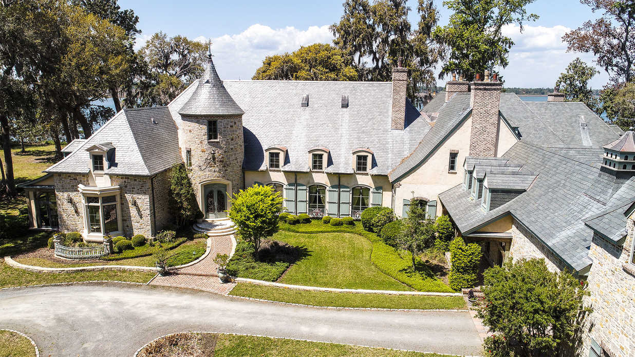 This Ultra-Lavish Chateau Brings the French Countryside to Hilton Head Island