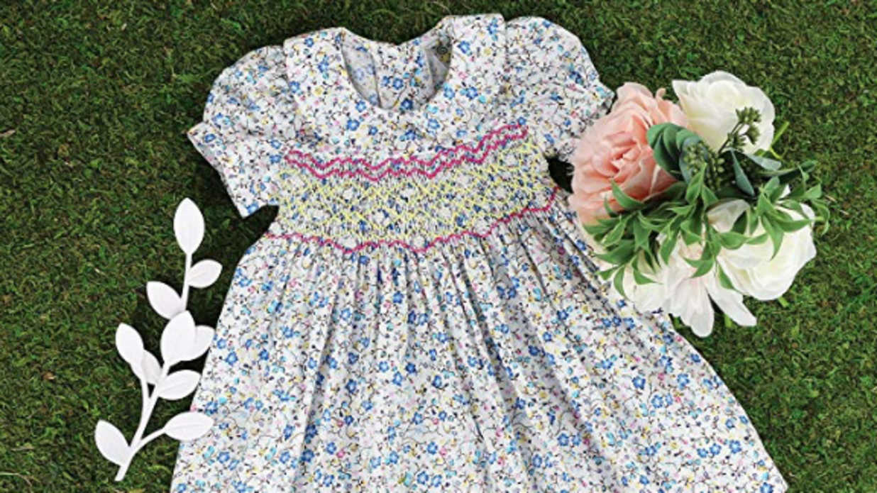 Smocked Easter Dresses Your Little One Will Love