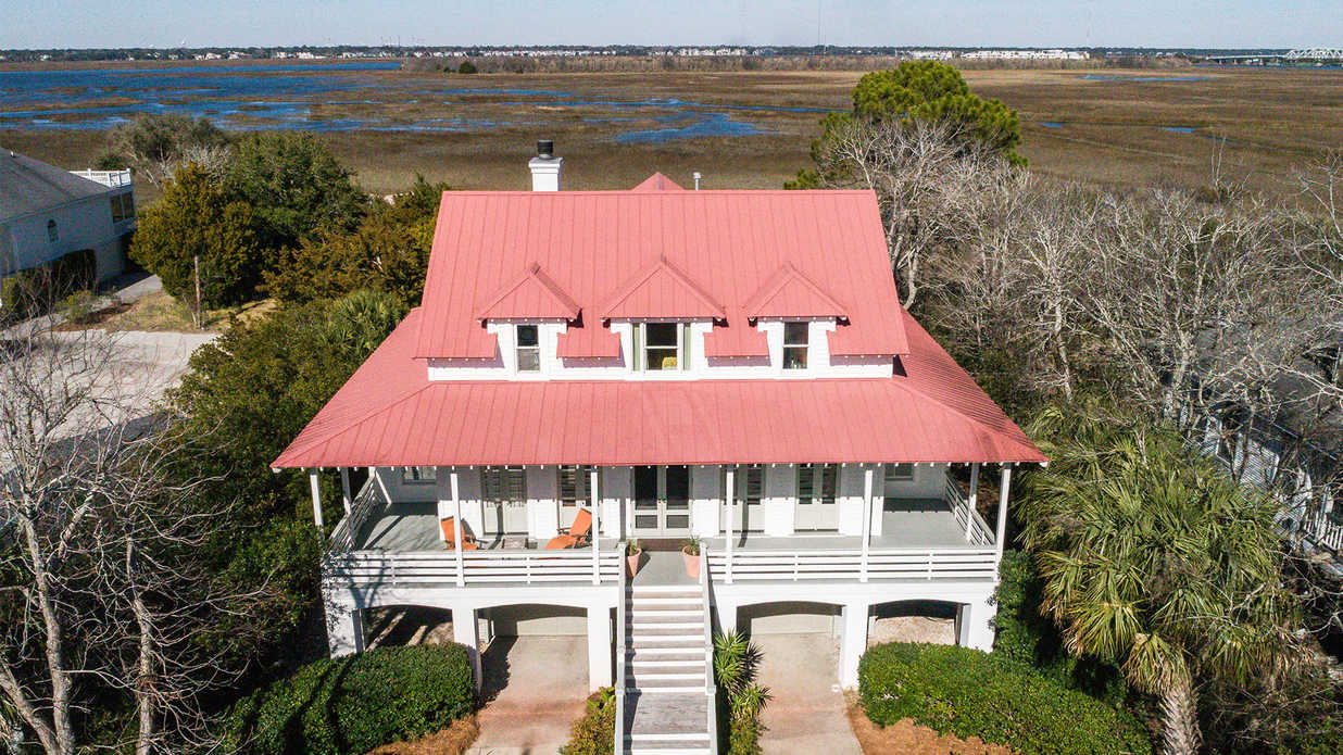 This Beautiful Sullivan's Island Mansion has Views for Days and Days
