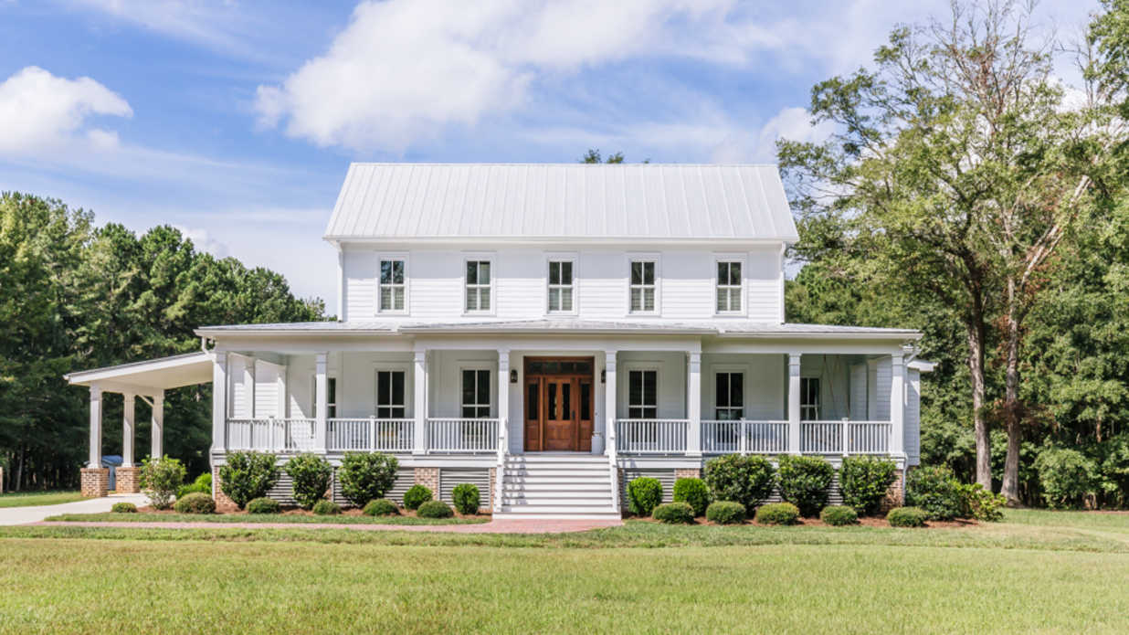 The Porches on This Georgia Farmhouse Will Make Any Southern Heart Race