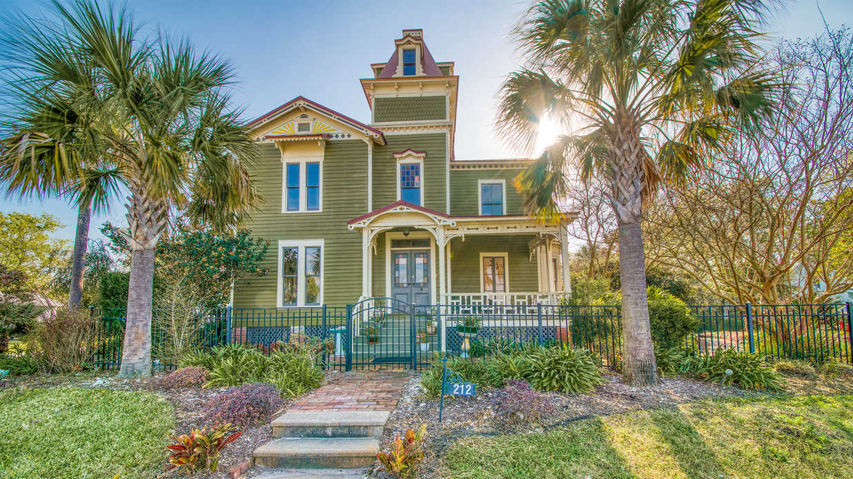 Check Out Pippi Longstocking's House for Sale in Florida's Beautiful Fernandina Beach