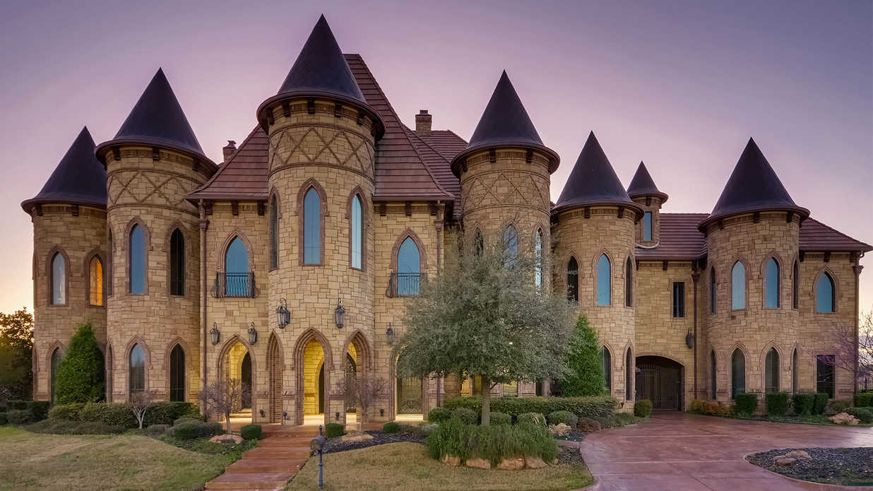 Famous Castle-Inspired Home Headed to Auction in Texas
