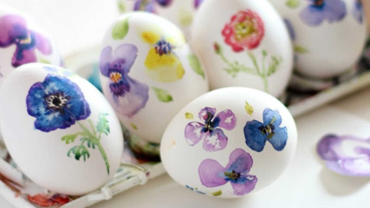 Easter Egg Designs Inspired by Our Favorite China Patterns