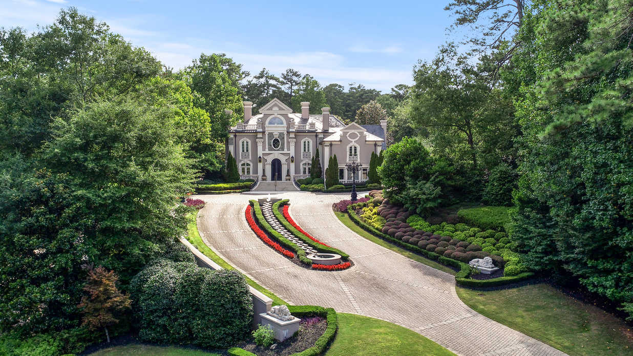 Kenny Rogers' Buckhead Mansion Is Back on the Market for $4,495,000