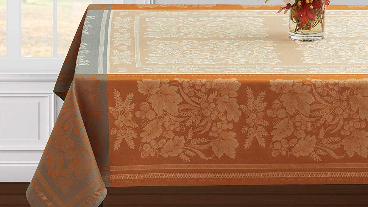 Tablecloths That Will Be The Crown Jewel Of Your Thanksgiving Table