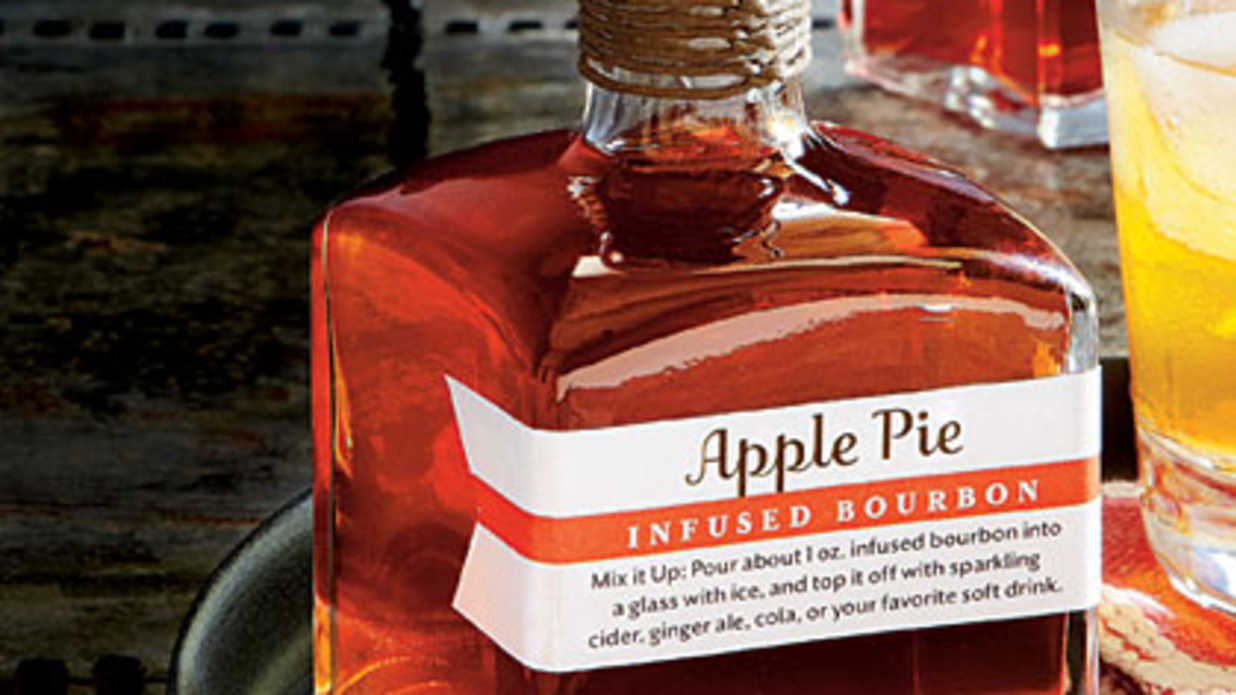 Apple Pie-Infused Bourbon Recipe