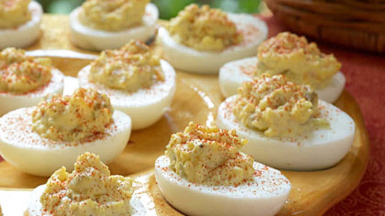The secret to the best deviled eggs southern living - Better homes and gardens deviled eggs ...