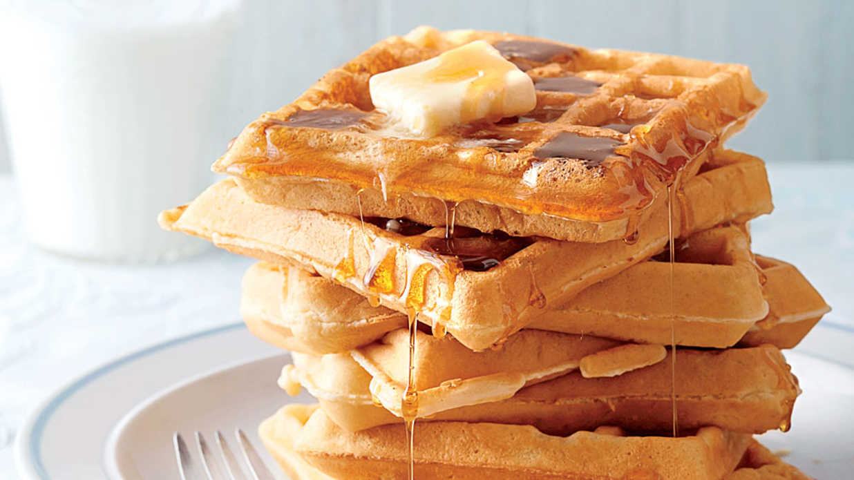 Fluffy Buttermilk Waffles Recipe