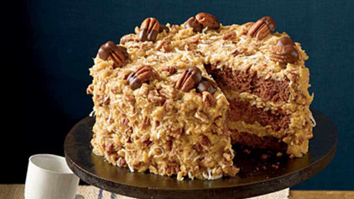 Mama's German Chocolate Cake Recipe