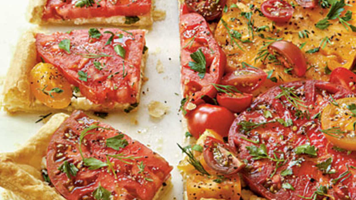 Herbed Tomato Tart Recipe