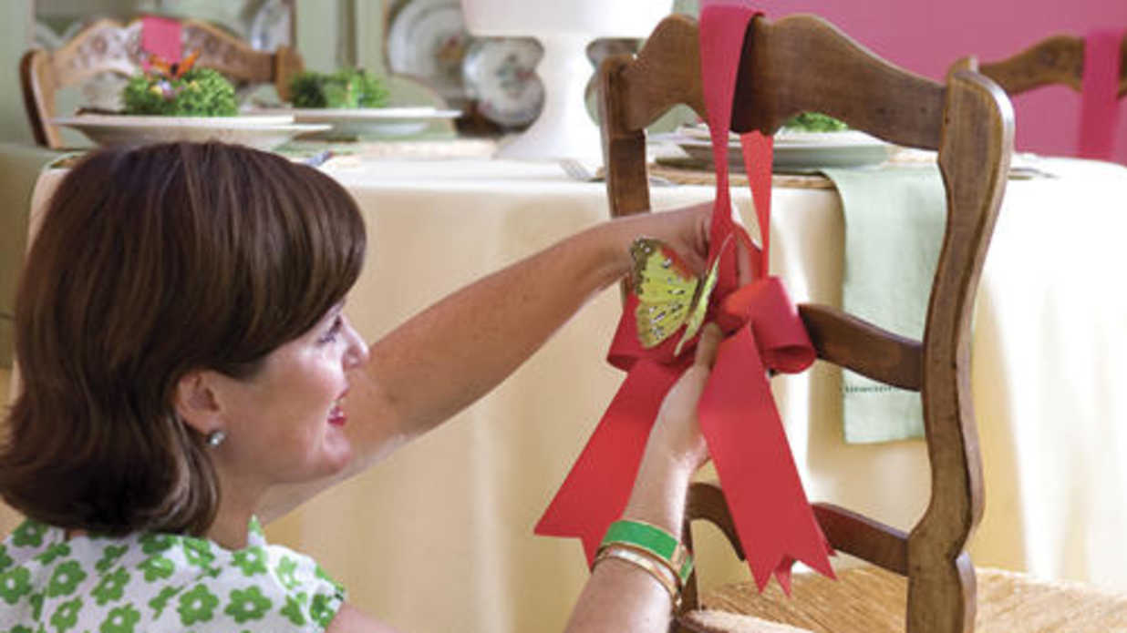 flights of fancy colorful easter table decorations southern living