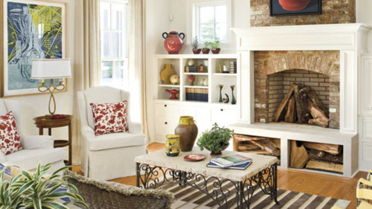 10 Lovely Living Rooms