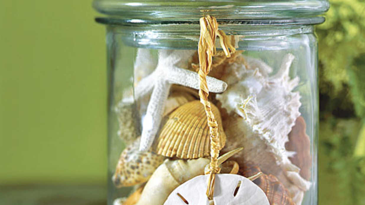 Decorate with Seashells