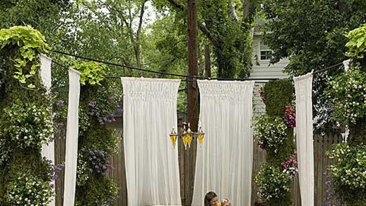 outdoor makeovers for your backyard deck front entryway and lawn