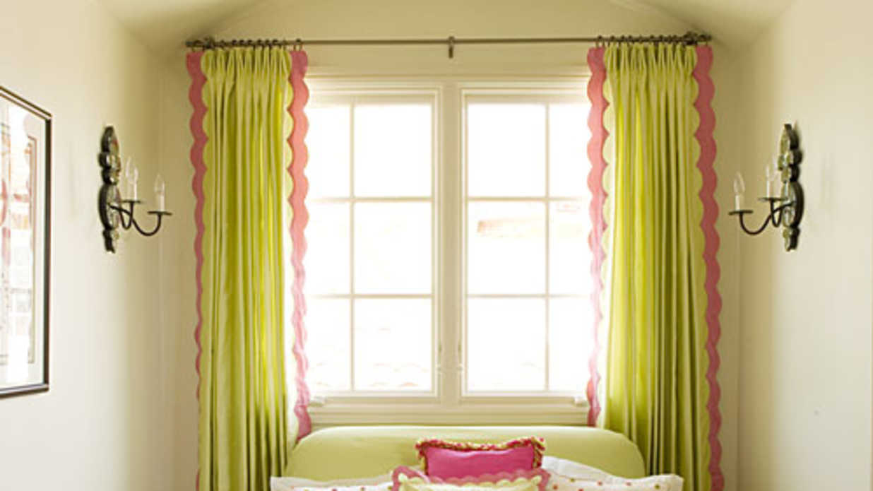 have fun with borders window treatments southern living