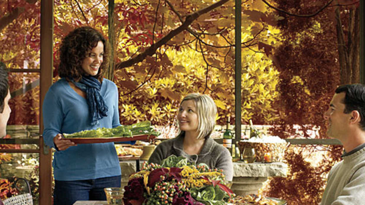 A Fall Harvest Dinner Party