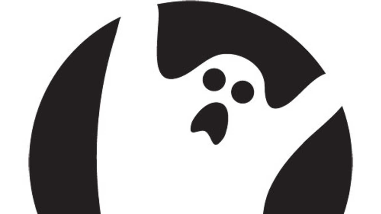 scary ghost template - 14 easy printable pumpkin carving patterns