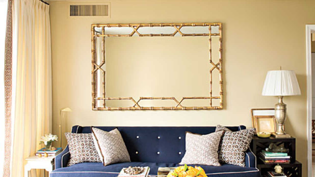 10 apartment decorating lessons from sally steponkus southern living - Apartment Decorating