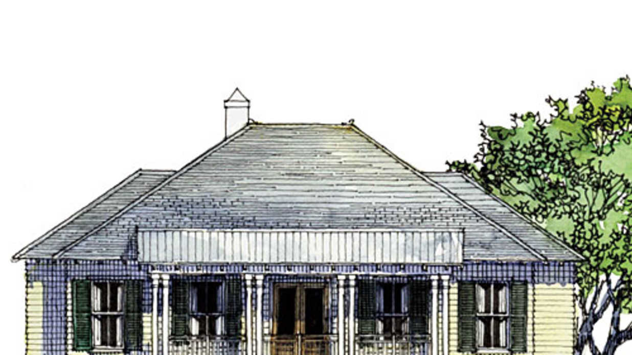 Bayou bend idea house design plans southern living for Home plans louisiana