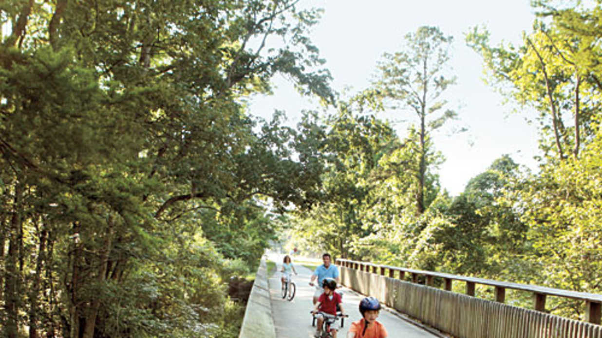 Louisiana Family Bike Ride