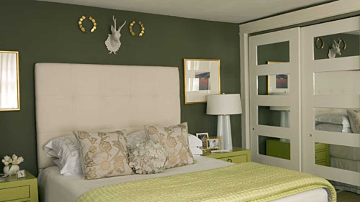 fresh green master bedroom decorating ideas southern 13370 | 1012 bedroom inspiration green mirrored doors x itok cwhwjkyg