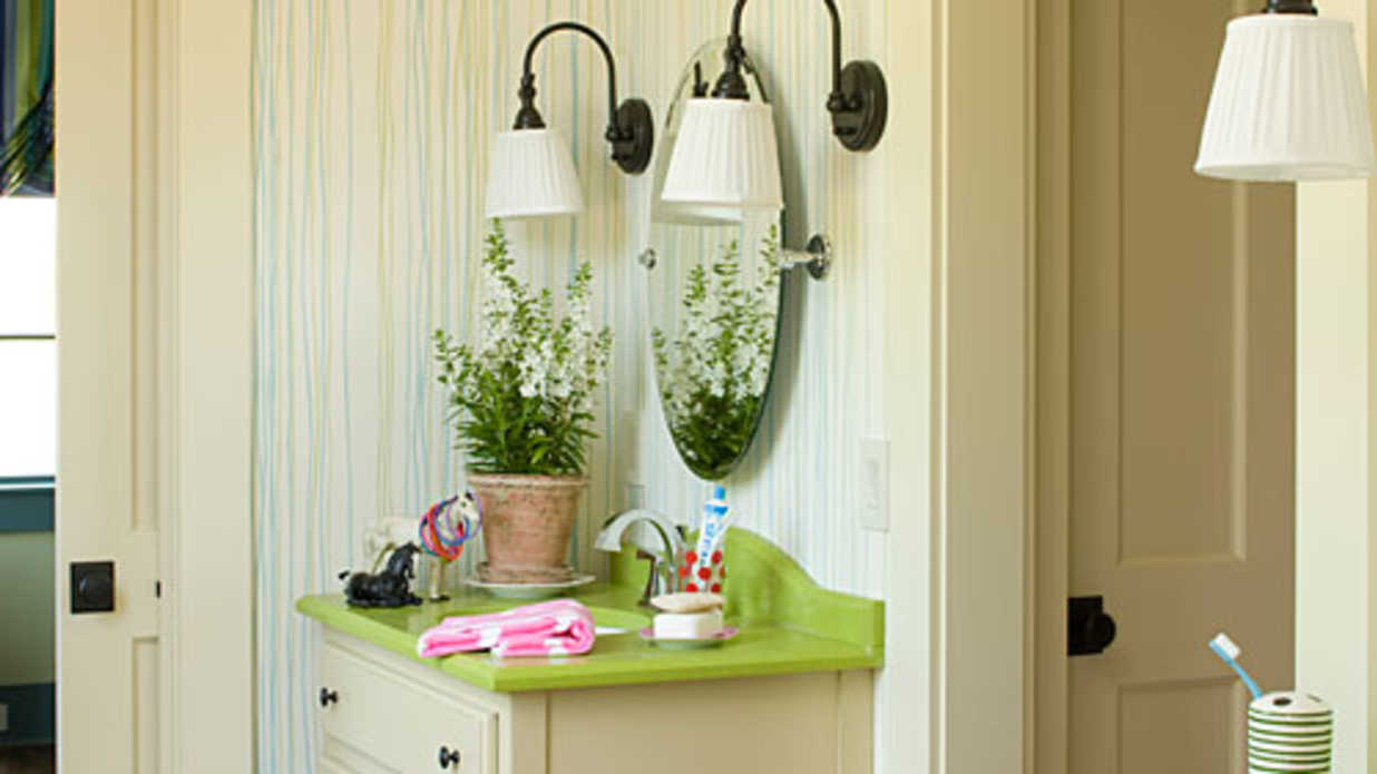 childrens bathroom design ideas southern living - Bathroom Decorating Ideas For Kids