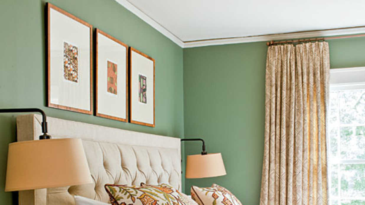 bedroom decorating ideas green.  Green Decorating Ideas Southern Living