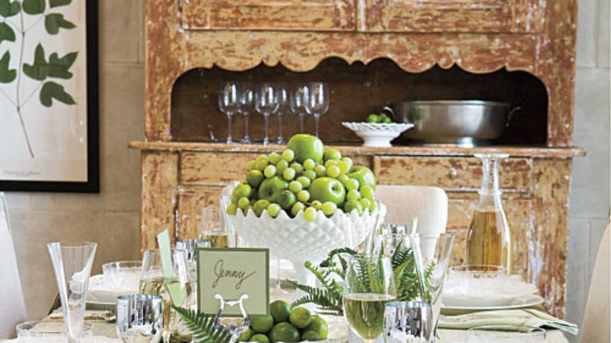 & How To Set the Table - Southern Living