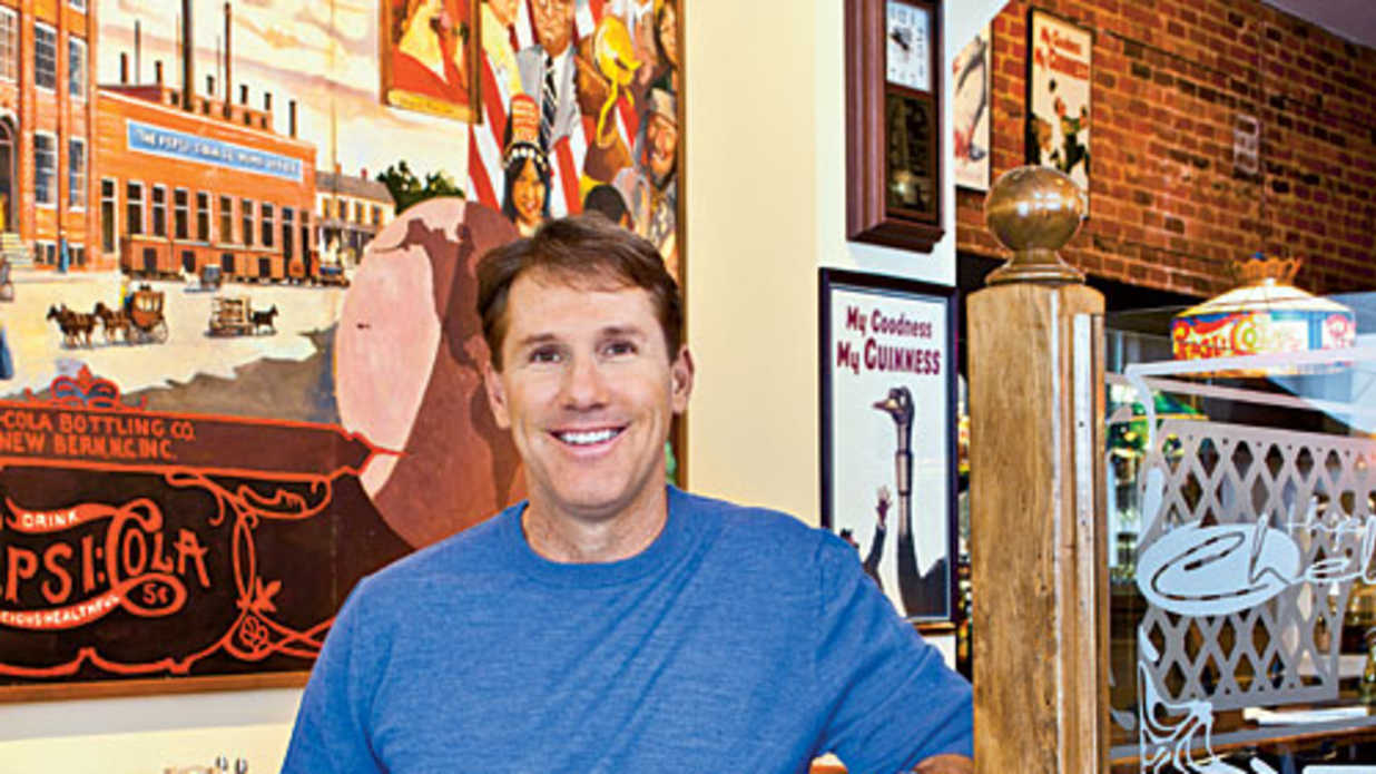 Dishing with Nicholas Sparks - Southern Living