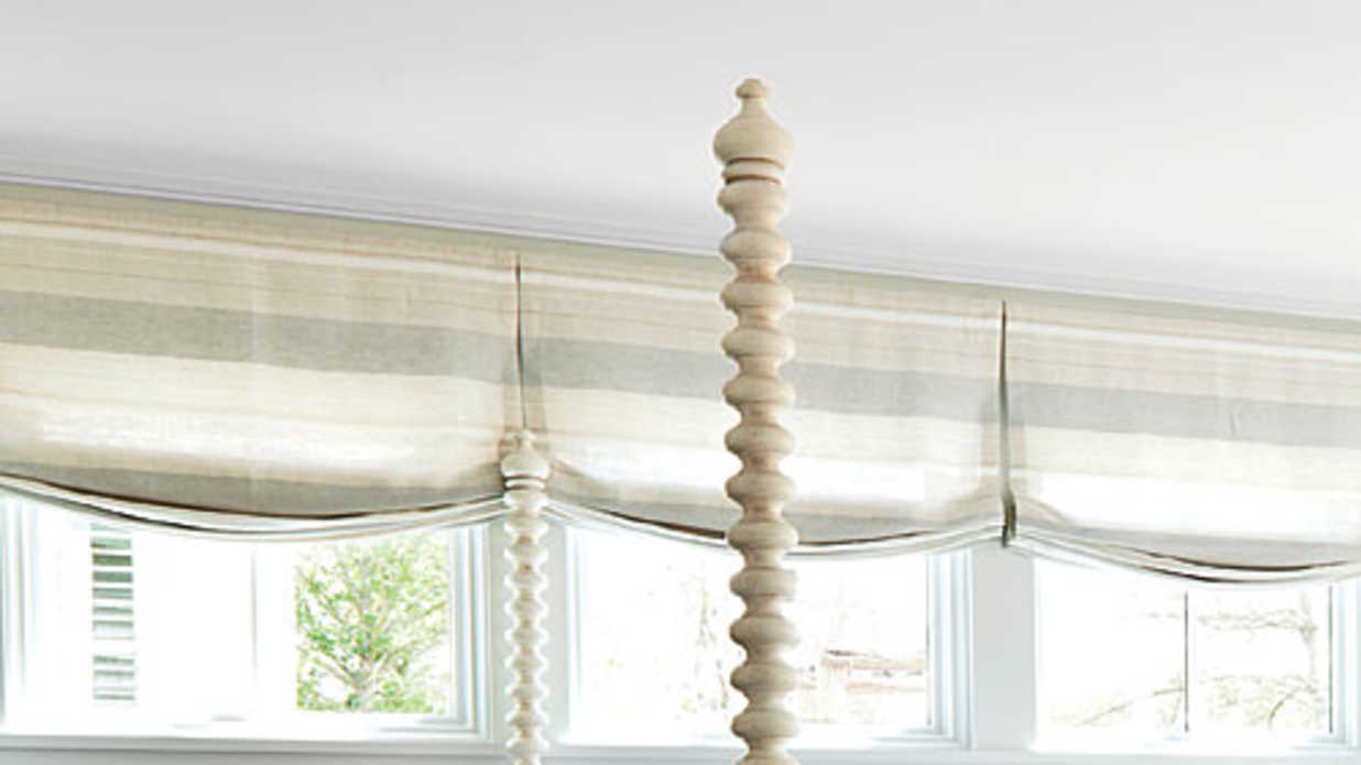 How To Dress A Row Of Windows Southern Living - Curtains for 3 windows in a row