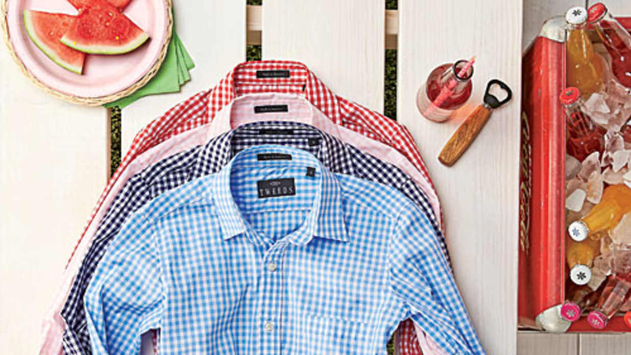 10 Perfect Gingham Shirts for Summer